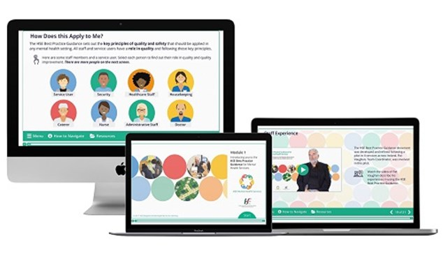 New Online Learning Resource Launched to Support Mental Health Services Staff and Users