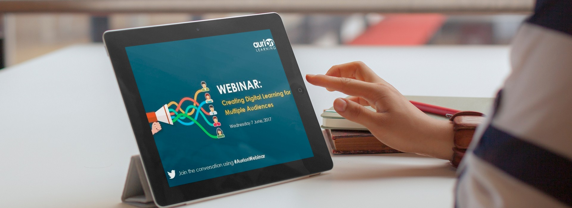 creating digital learning for multiple audiences webinar embedded in ipad