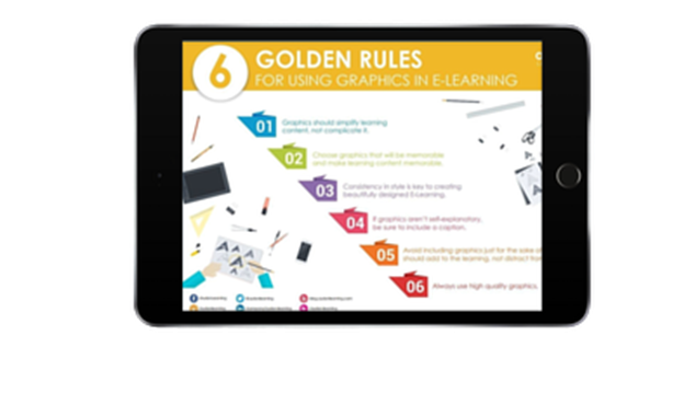 Six Golden Rules for Using Graphics in eLearning