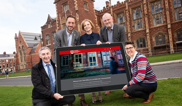 Queen's University Belfast Launch New eLearning Resource to Support Staff with their Equality, Diversity and Inclusion Training